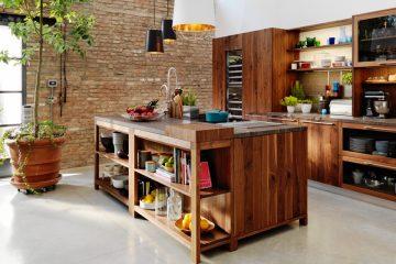 Naturholzküchen kochen auf höchstem niveau ist eine kunst