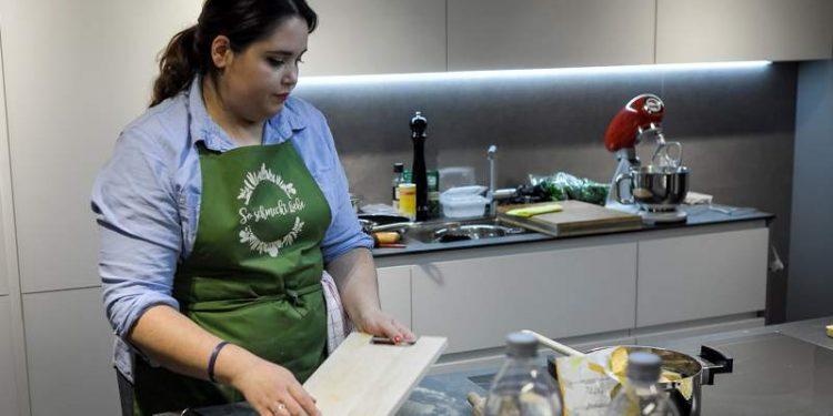 Luisa Zerbo in Würthner-Wohnen Küche