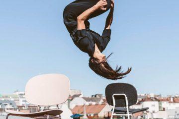 Leichtes Design - schweben, tanzen, fliegen