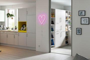 Der Hauswirtschaftsraum neben der Küche