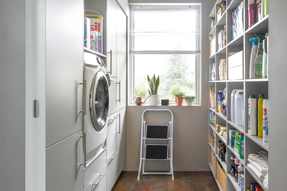 Alles hat seinen Platz - Organisation im Hauswirtschftsraum