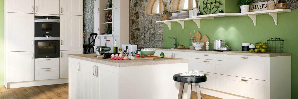Kücheninsel im Lanhausstil